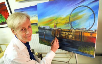 Artist backs Middlesbrough city status bid